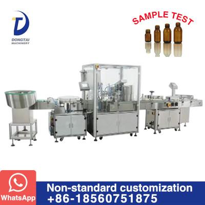 DTL-17F  Non - standard bottle liquid filling capping labeling machine