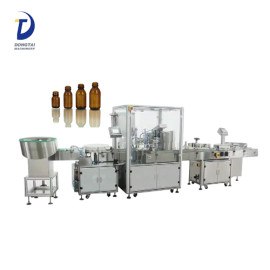 Automatic eye drops / perfume vials washing filling and capping machine