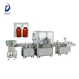 Automatic e-liquid filling machine, syrup vial filling machine price