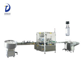 100% factory rotary nail polish /essential oil filling capping machine,24ml attar bottle filling line
