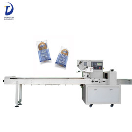 Automatic cheese / cookies / ice lolly / vegetable pillow packing machine