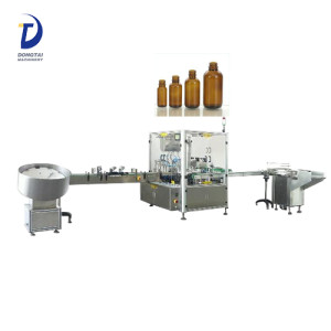 Auto 304 stainless steel bottle feeding/collecting turntable,electric cigarette liquid/essential oil filling capping machine