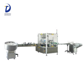 Automatic liquid medicine filling machine, perfume/ molasses filling and capping machine price