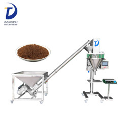Semi automatic single head 316L stainless steel pepper powder filling machine
