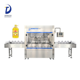 Automatic weighing castor oil bottle filling machine,soybean oil /corn oil filler machine