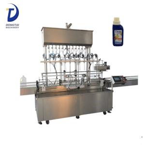 Automatic liquid filling machine as shampoo water