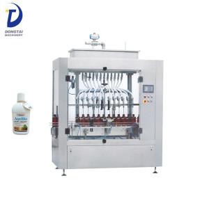 Automatic Bottle Liquid Shampoo Filling Machine,Detergent Filler