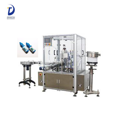Plastic bottle filling machine for eye drop/syrup,small bottle filling and capping machine