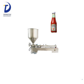 Stainless Steel Semi-automatic Peanut Butter Chili Sauce Filling Machine Jam Filling Machine
