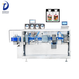 Plastic ampoule filling and sealing machine, Roll form Blow fill seal machine for Plastic vial