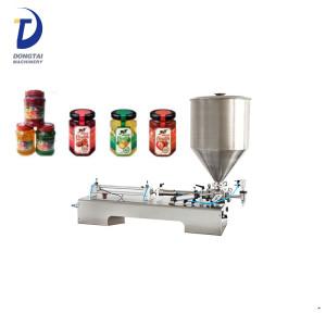 Top quality Semi automatic paste / cream / fruit jam filling machine