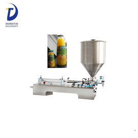 Piston Small Juice Bottle Filling Machines for Chemical liquid Shampoo Liquid Soap Detergent