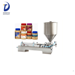 Peanut Butter Filling Machine Table Top Jam Cream Filling Machine