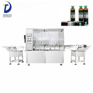 Automatic Vial Filler and stopper machine Liquid Vial Filling machine