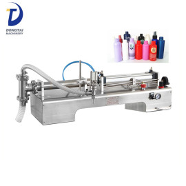 Semi-Automatic Piston Filling Machine for Free Flowing Liquids