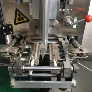 Automatic liquid sachet filling machine , peanut butter / tomato sauce packing machine