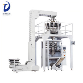 weigher chips snack bag filling packing machine automatic dry dried fruit snacks packing machine