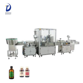 200ml e-liquid bottle gorilla small bottle liquid packing machine eyedrop bottle filling capping machine line