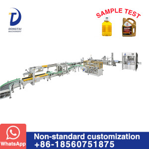 Automatic Filling and Packaging Line for Liquid Edible Oil Lubricating Oil