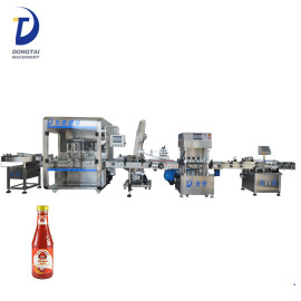 Small bottle hot / bbq / tomato / chili sauce filling machine