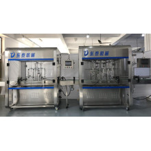 automatic edible oil filling machine and nitrogen filling equipment