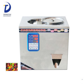 CE Provided Dry Powder Sugar Spice Particle Bottle Filling Machine 规视