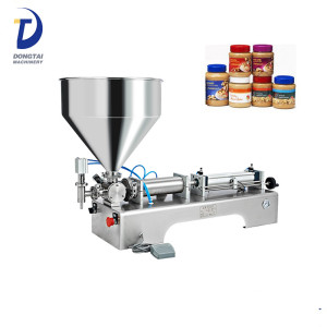 100-1000ml single head filling machine for viscosity oil and cream paste