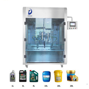 Piston type engine / lube / lubricant /oil bottles filling machine