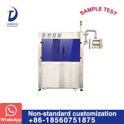 visual testing machine/equipment for oil plastic bottle label and oil filling and packing line