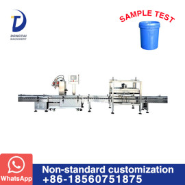 weighing drum filling gland machine for Oil ,Water, solvents, alcohol, specialty chemicals, paint