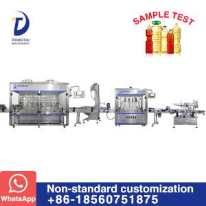 Multiple Nozzles Edible Oil Sunflower Oil Peanut Oil Filling Packing Machine Production Line
