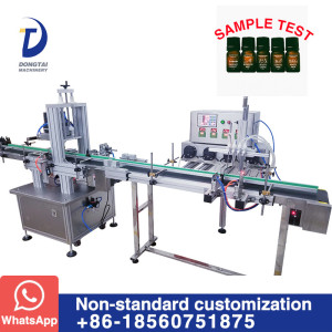 Automatic Vertical Low Dose liquid filling and capping machine