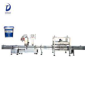Semi automatic hydraulic / car / brake / lubricating / lubricants oil filling machine