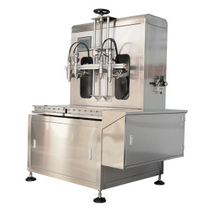 Semi-automatic weighing oil filling machine