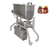 The quality of the ketchup filling machine wins praise from the seasoning factory