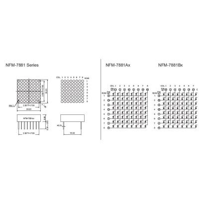 Dot Matrix Display 8x8