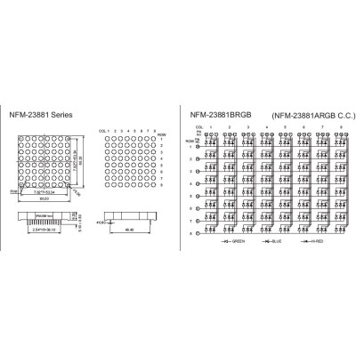 Led Dot Matrix Display 8x8