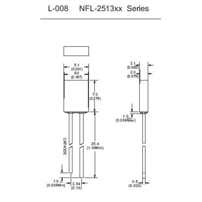 Standard Light Emitting Diode NFL-2513xx