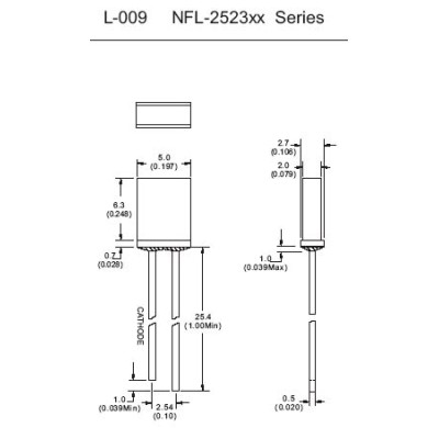 Standard Light Emitting Diode LED