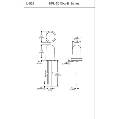 Blinking LED NFL-5013XX-B