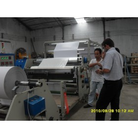 hot melt coating machine for label stock, adhesive tape