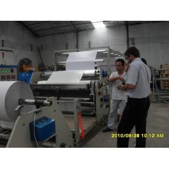 hot melt coating machine for label stock, adhesive tape