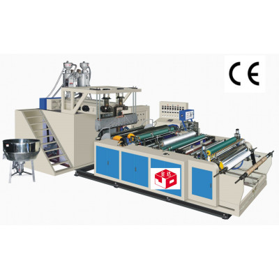 Two-Layer Stretch and Cling Wrapping Film Machine