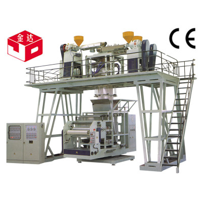 Blown-down 3-layer co-extrusion film production line