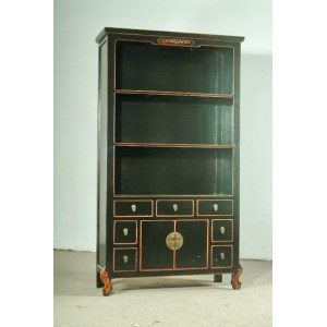 Antique bookcase-MQ08-137