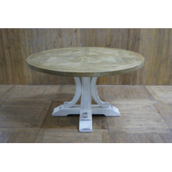 Round Pattern style Dinning table