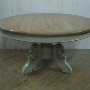 ROUND STYLE DINNING TABLE