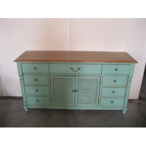 9 DRAWER 2 DOOR BARRIER BUFFET