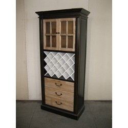 2 DOOR 3 DRAWER WINE CONSOLE