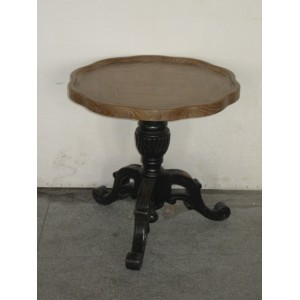 PARQUET TOP ROUND TABLE
